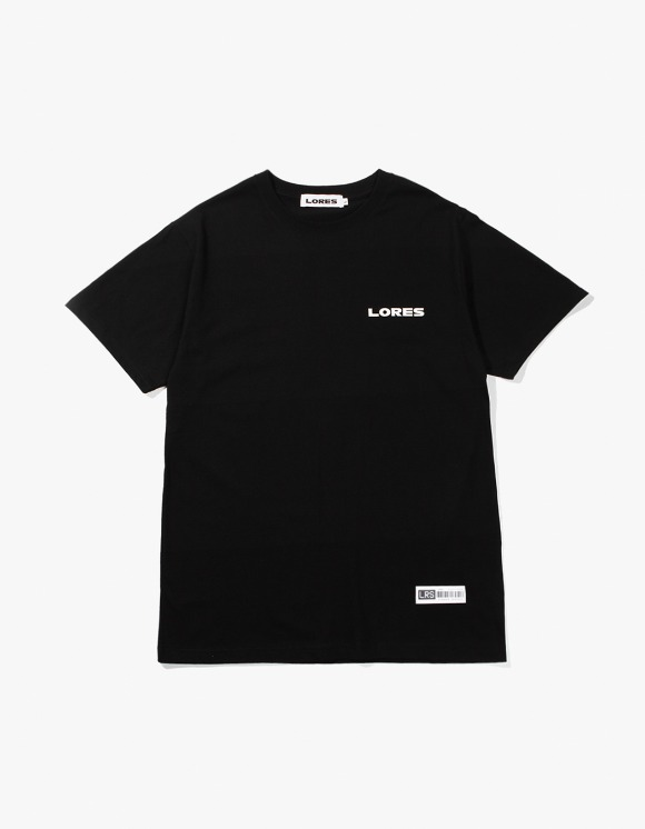 Lores Logo S/S T-shirts - Black | HEIGHTS. | International Store