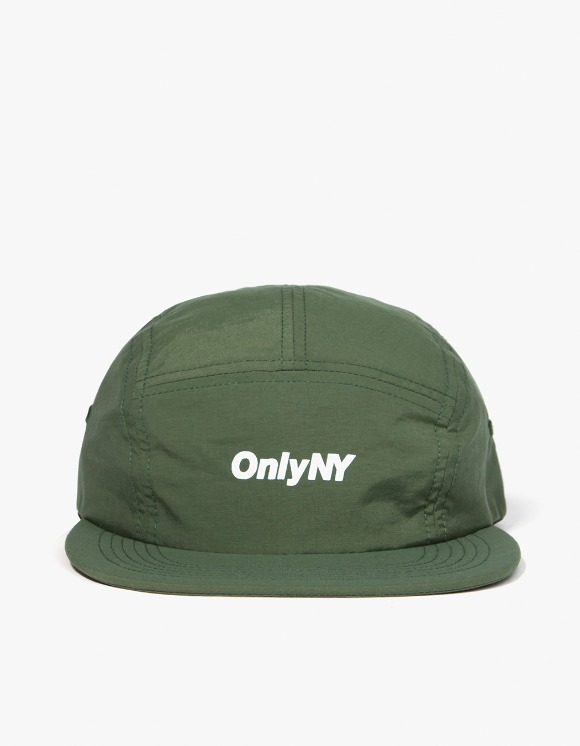 Only NY Logo 5-Panel Hat - Olive | HEIGHTS. | International Store
