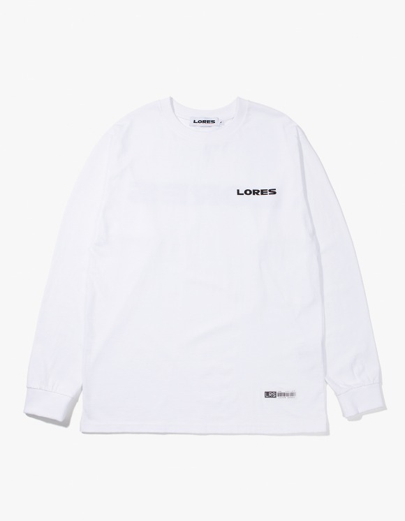 Lores Logo L/S T-shirts - White | HEIGHTS. | International Store