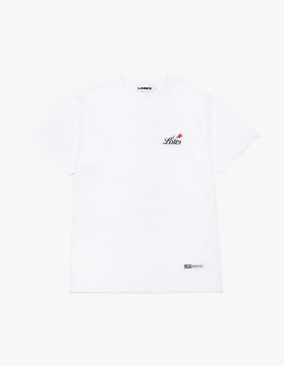 Lores Rose S/S T-Shirt - White | HEIGHTS. | International Store
