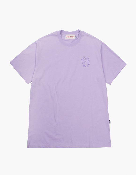 Victoria Hong Kong Queenhead S/S Classic Tee - Lavender | HEIGHTS. | International Store