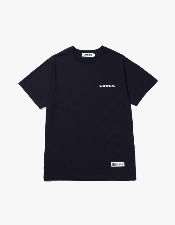 Lores Logo S/S T-shirts - Navy | HEIGHTS. | International Store
