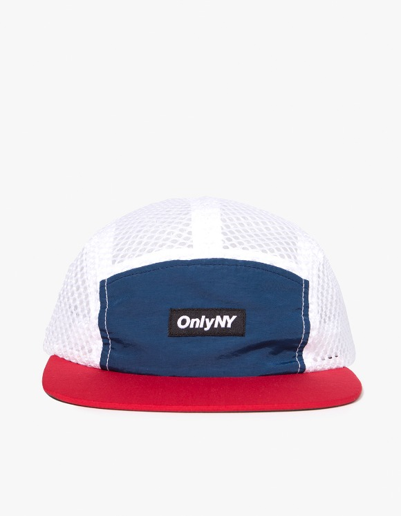 Only NY Mesh Runners 5-Panel Hat - Navy/Red | HEIGHTS. | International Store