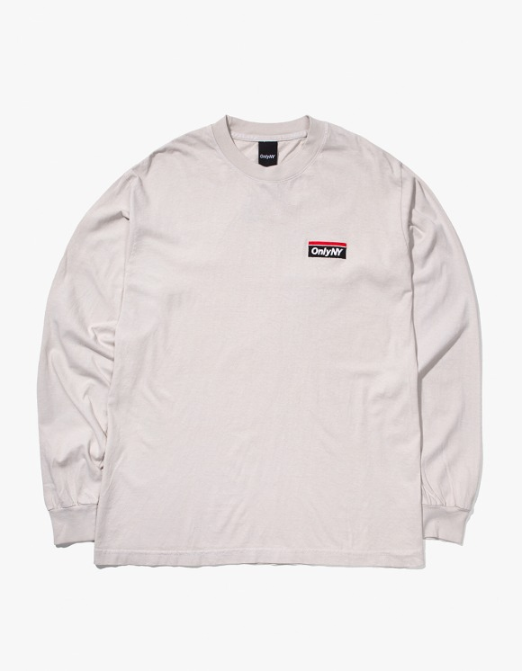 Only NY Subway Logo L/S T-Shirt - Cement | HEIGHTS. | International Store