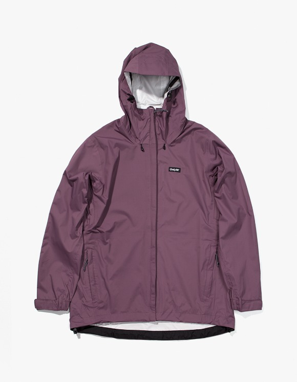 Only NY Packable Waterproof Transit Shell - Plum | HEIGHTS. | International Store