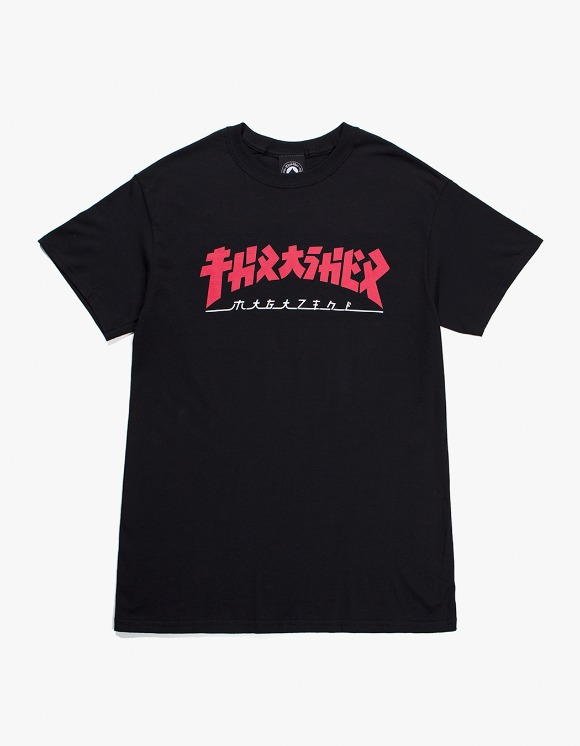 Thrasher Godzilla S/S Tee - Black | HEIGHTS. | International Store