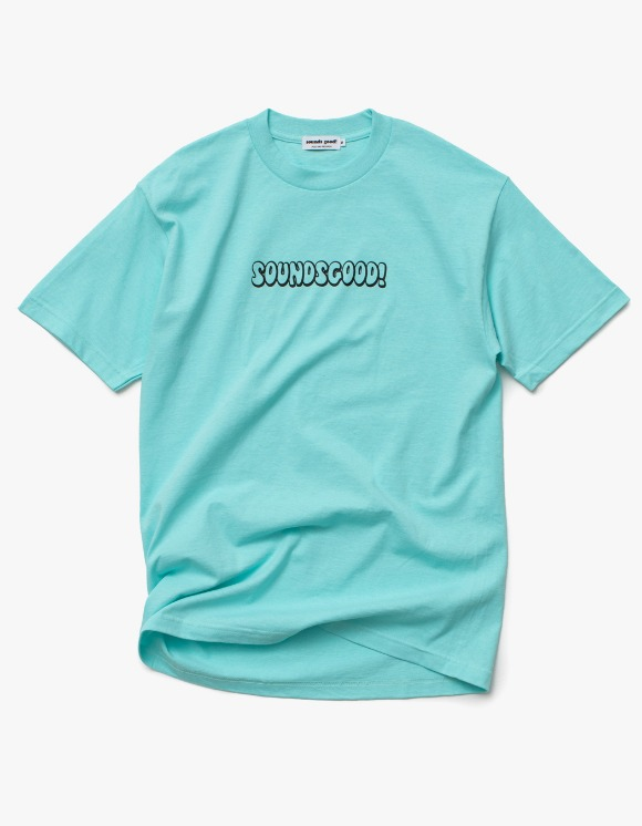 sounds good! SG Bubble Logo Tee - Celadon | HEIGHTS. | International Store