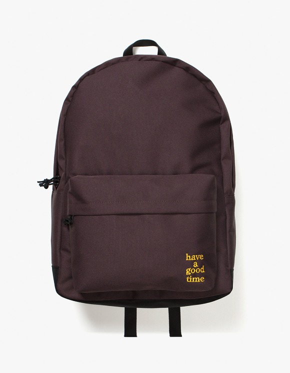 have a good time Logo Backpack - Chocolate | HEIGHTS. | International Store