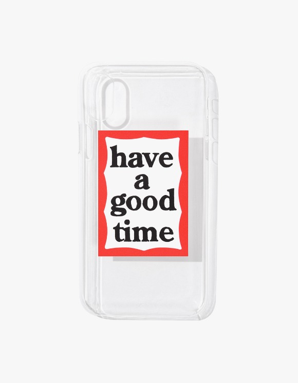 have a good time Frame iPhone Case X/XS - Clear | HEIGHTS. | International Store
