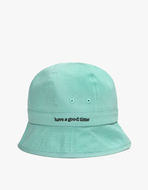 have a good time Side Logo Bucket Hat - Pistachio | HEIGHTS. | International Store