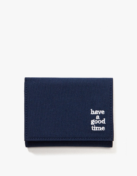 have a good time Logo Wallet - Midnight Blue | HEIGHTS. | International Store