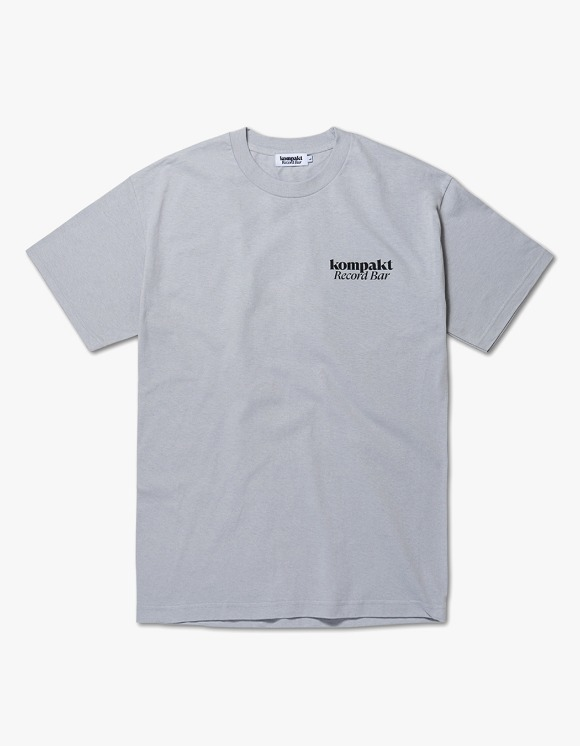 Kompakt Record Bar Every Damn Day S/S Tee - Grey | HEIGHTS. | International Store