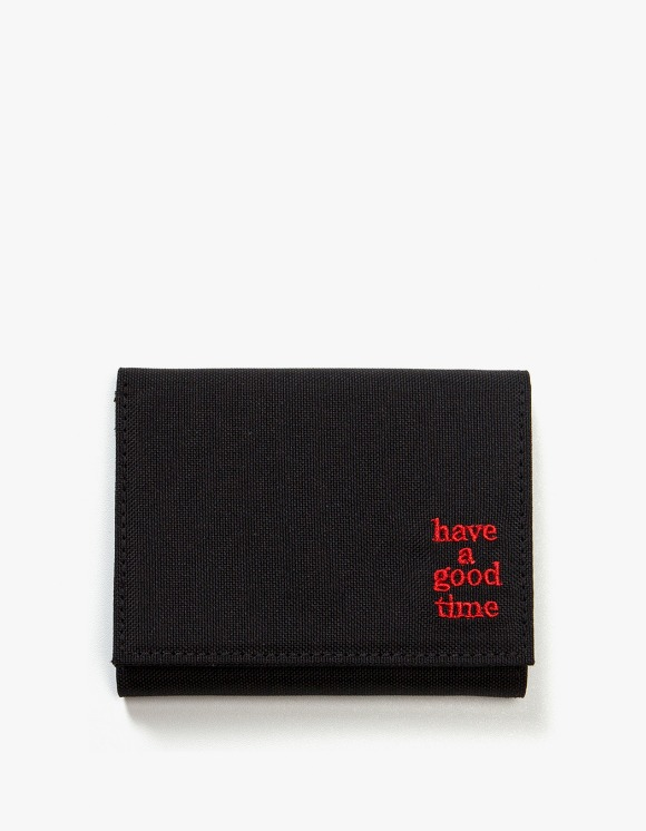 have a good time Logo Wallet - Black | HEIGHTS. | International Store
