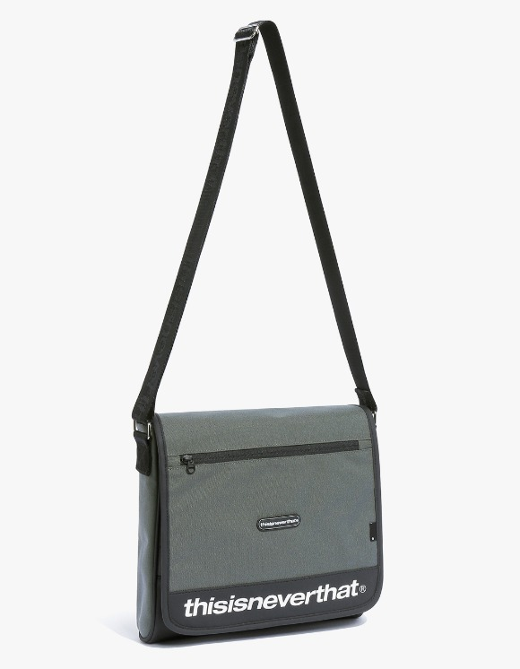 thisisneverthat CORDURA® 750D Nylon Messenger Bag - Grey | HEIGHTS. | International Store