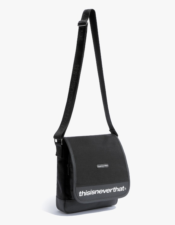 thisisneverthat CORDURA® 750D Nylon Shoulder Bag - Black | HEIGHTS. | International Store
