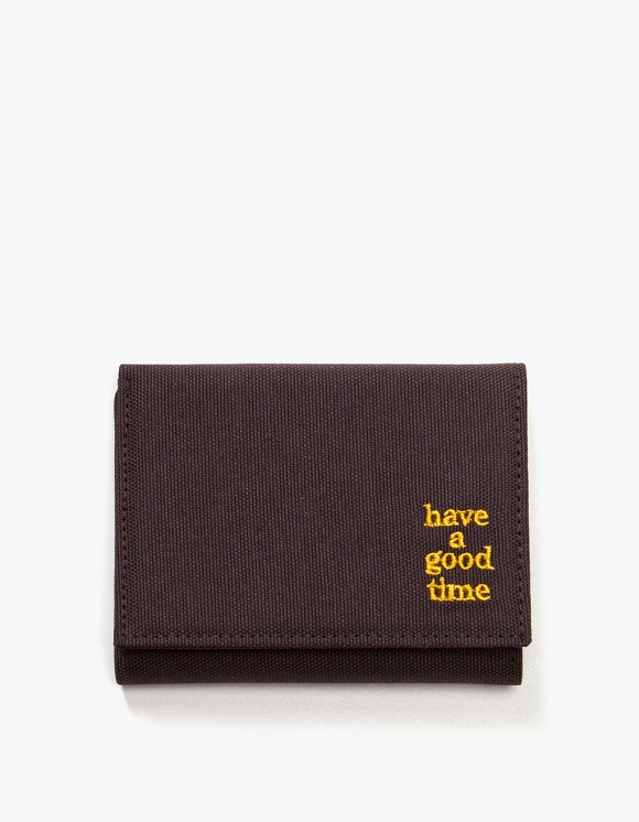 have a good time Logo Wallet - Chocolate | HEIGHTS. | International Store