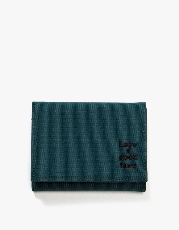 have a good time Logo Wallet - Smokey Green | HEIGHTS. | International Store