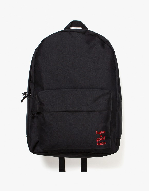 have a good time Logo Backpack - Black | HEIGHTS. | International Store