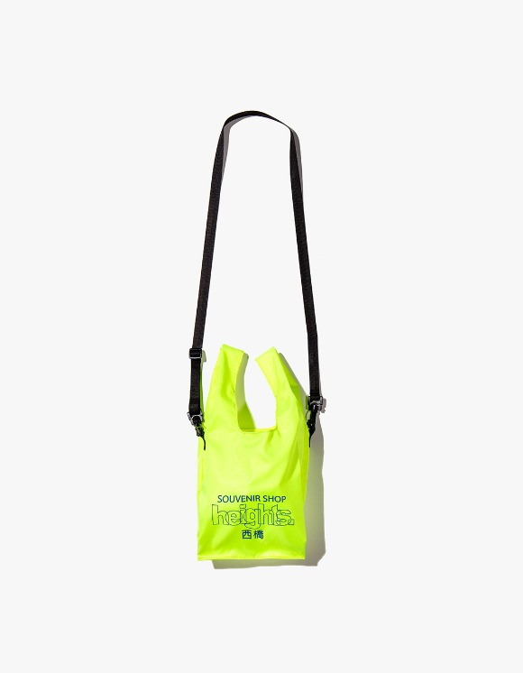 HEIGHTS. Heights. Logo Shoulder Bag - Safety Green | HEIGHTS. | International Store