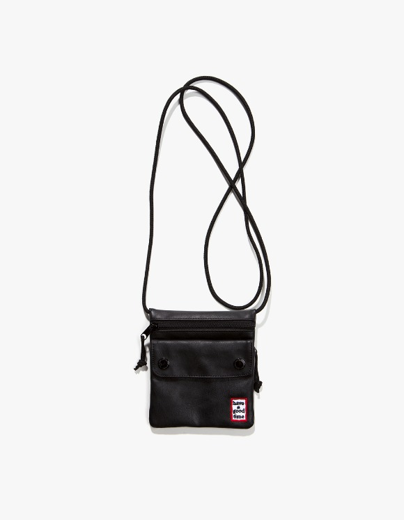 have a good time Frame Faux Leather Small Shoulder Bag - Black | HEIGHTS. | International Store