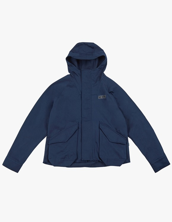 yeseyesee E.C.C Mountain Parka - Navy | HEIGHTS. | International Store