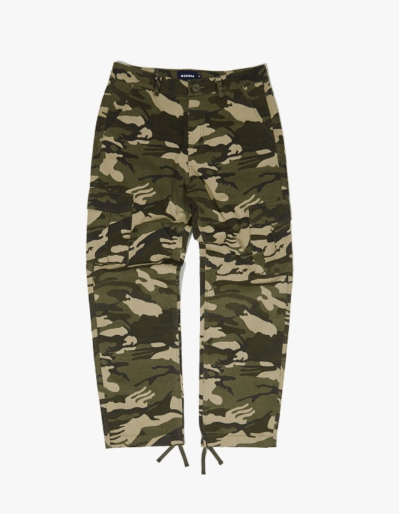 WKNDRS Camo Cargo Pants - Khaki | HEIGHTS. | International Store