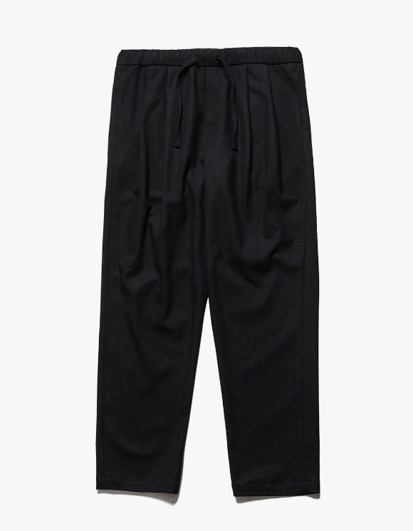 AECA WHITE Suite Wide Wool Pants - Black | HEIGHTS. | International Store
