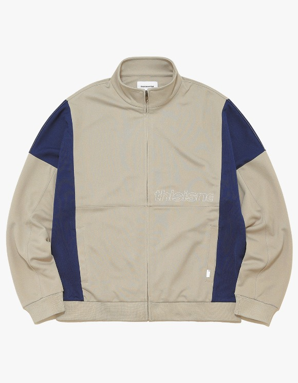 thisisneverthat HSP Track Jacket - Beige | HEIGHTS. | International Store