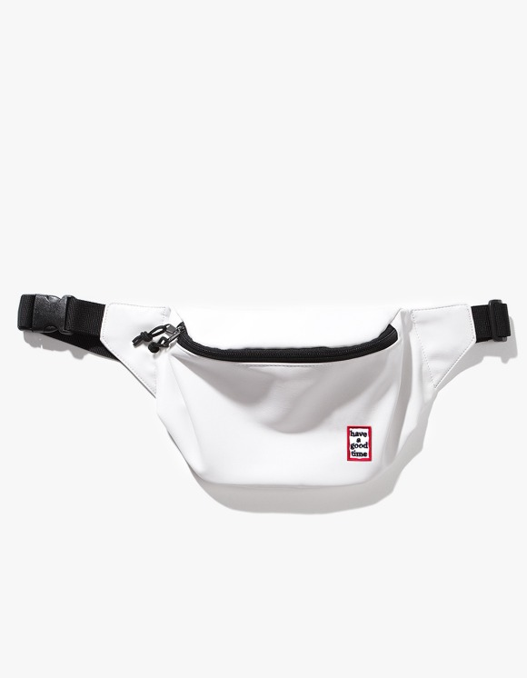 have a good time Frame Faux Leather Waist Bag - White | HEIGHTS. | International Store