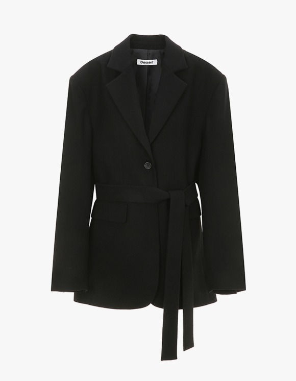 Dessert Two way Tailored Jacket - Black | HEIGHTS. | International Store
