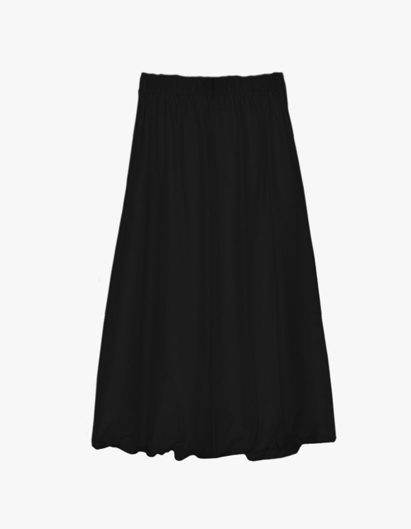 Dessert Shirring Skirt - Black | HEIGHTS. | International Store