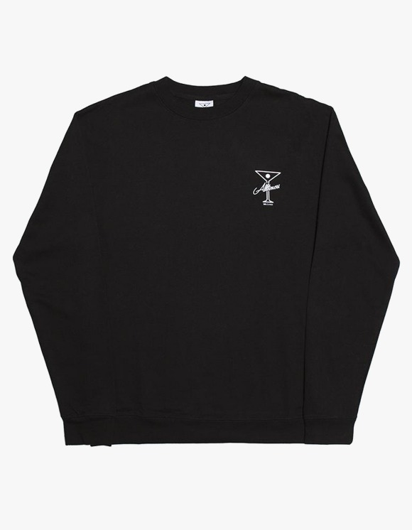 Alltimers Reverse Crewneck - Black | HEIGHTS. | International Store