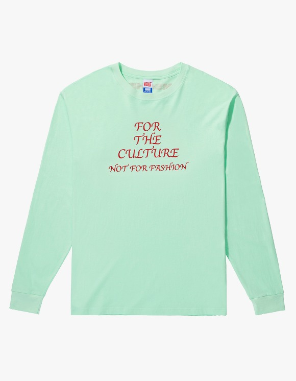 MISCHIEF FOR THE CULTURE Long Sleeve - Pale Green | HEIGHTS. | International Store