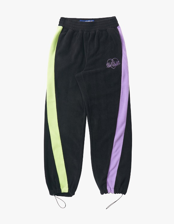eyeye Color Combination Fleece Pant - Black | HEIGHTS. | International Store