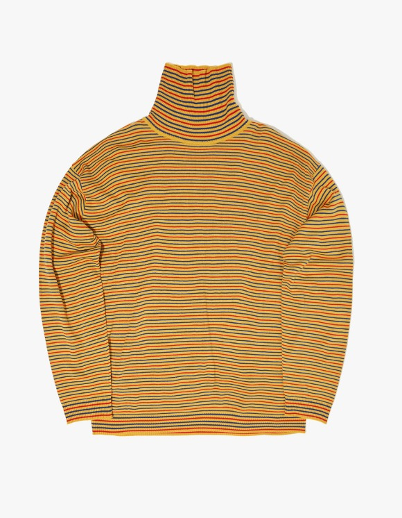 WKNDRS Striped Knit Turtleneck - Yellow | HEIGHTS. | International Store