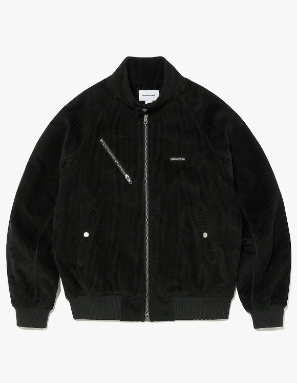 thisisneverthat Corduroy Zip Jacket - Black | HEIGHTS. | International Store