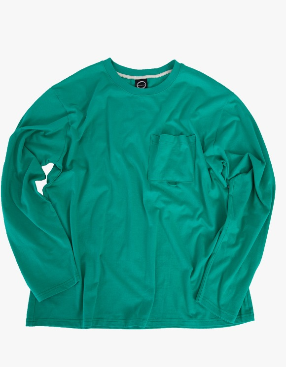 Kruchi lab Pocket Long Sleeve - Mint | HEIGHTS. | International Store