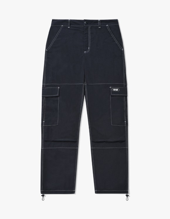 KIRSH POCKET STRING PANTS IA - BLACK | HEIGHTS. | International Store
