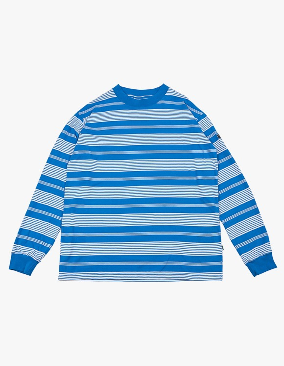 yeseyesee Y.E.S Stripe Long Sleeve - Blue | HEIGHTS. | International Store
