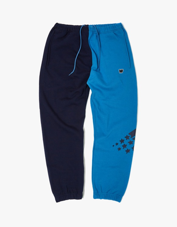 WKNDRS 2-Tone Sweat Pants - Blue | HEIGHTS. | International Store