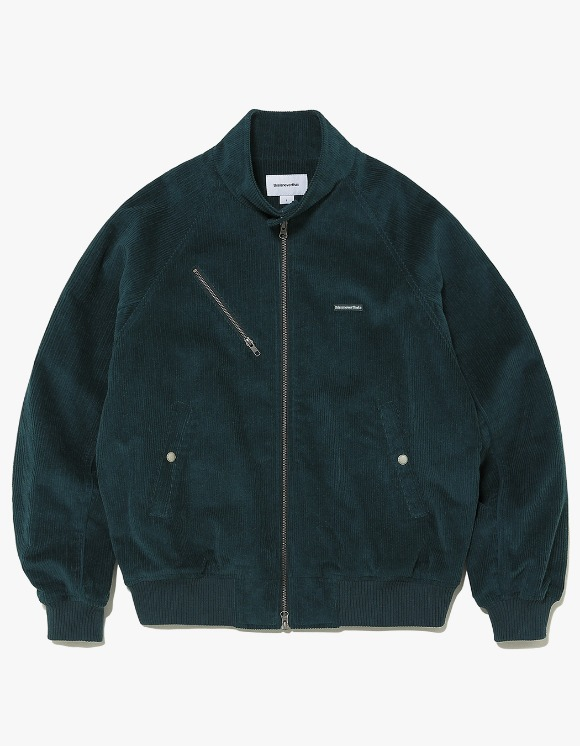 thisisneverthat Corduroy Zip Jacket - Forest | HEIGHTS. | International Store