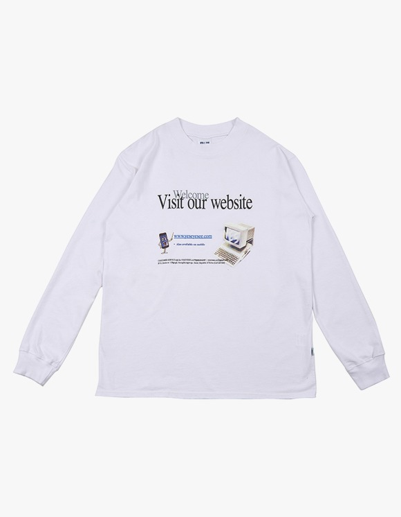 yeseyesee V.O.W Long Sleeve - White | HEIGHTS. | International Store