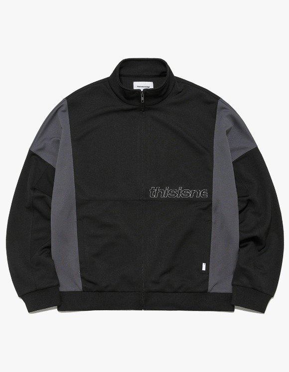thisisneverthat HSP Track Jacket - Black | HEIGHTS. | International Store