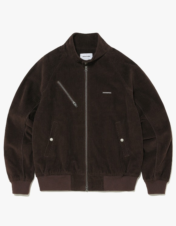 thisisneverthat Corduroy Zip Jacket - Brown | HEIGHTS. | International Store