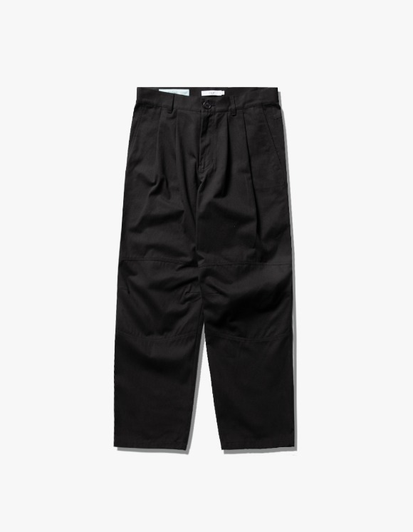 have a good time Wide Tuck Twill Pants - Black | HEIGHTS. | International Store