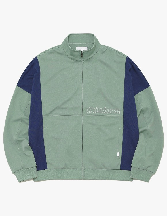 thisisneverthat HSP Track Jacket - Olive | HEIGHTS. | International Store
