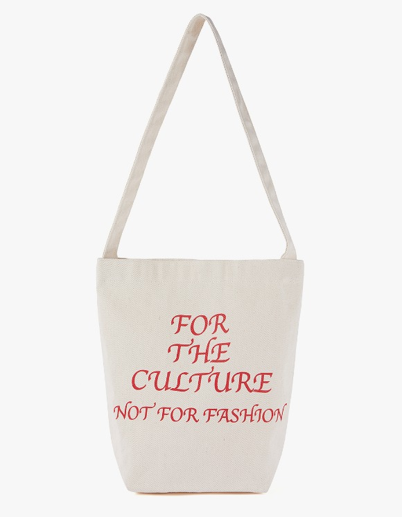 MISCHIEF Culture Eco Bag - Cream/Red | HEIGHTS. | International Store
