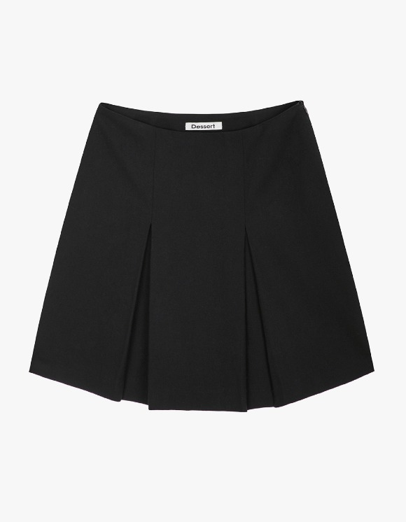 Dessert Pleats Mini Skirt - Black | HEIGHTS. | International Store