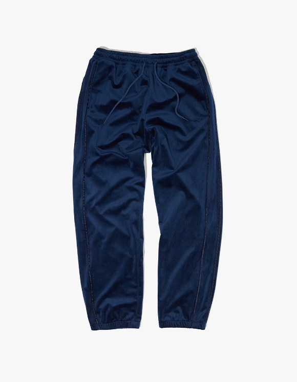 WKNDRS Velvet Easy Pants - Navy | HEIGHTS. | International Store