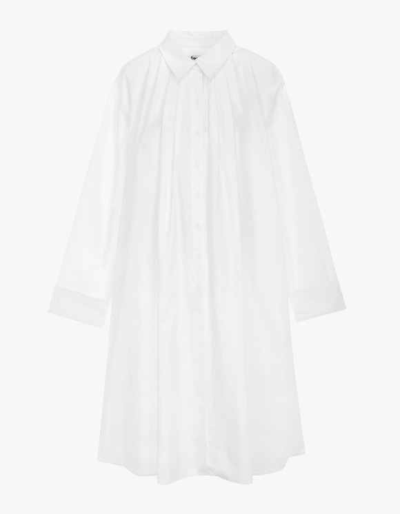 Dessert Shirring Shirt Dress - Off White | HEIGHTS. | International Store